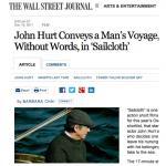 Wall Street Journal John Hurt