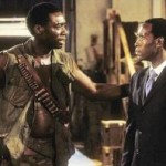 'George Rutaganda' in 'Hotel Rwanda', alongside Don Cheadle.
