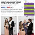 Daily Mail London Flair PR's Birthday & Oscar Party