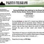 DWP Pakistan Telegraph