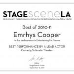 Emrhys Award