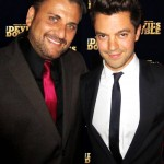 Mem Ferda and Dominic Cooper at The Devil's Double New York Premiere