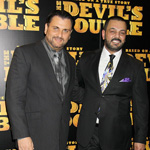 Mem Ferda & Latif Yahia at The Devil's Double UK Premiere