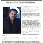 Vicky B Celebrity Magazine Page 1