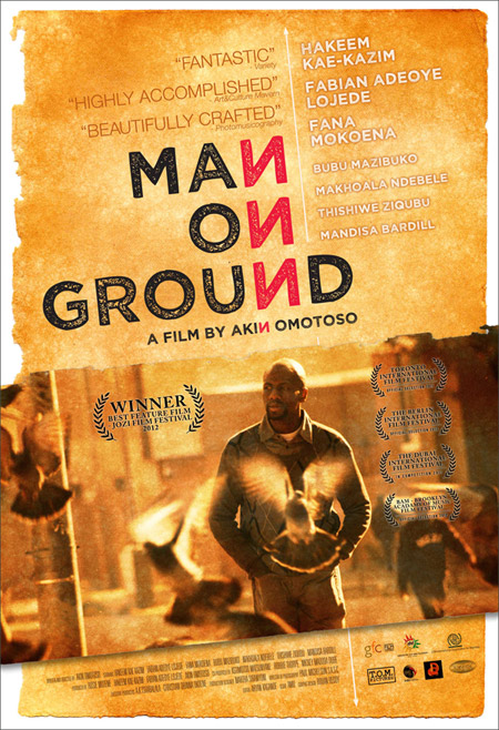 Man on Ground starring Hakeem Kae-Kazim