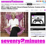 Silvena Rowe in 72minutes Magazine