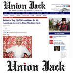 Silvena Rowe in Union Jack News USA