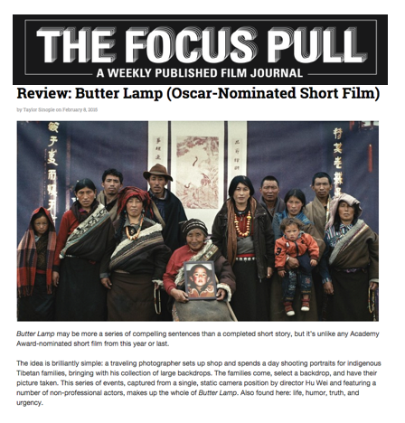 The Focus Pull