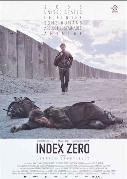Index Zero starring Simon Merrells and  Ana Ularu