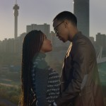 Moratiwa (Nomzamo Mbatha) and Nat (Masego 'Maps' Maponyane in TELL ME SWEET SOMETHING