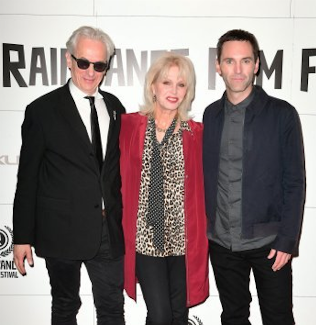 Raindance Film Festival 2016 - Elliot Grove with Jurors Joanna Lumley and Johnny McDaid
