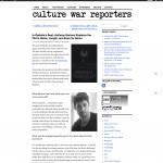 Ophelia Culture war reportes 2016