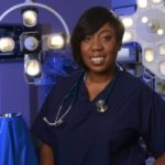 Chizzy Akudolu in Holby City