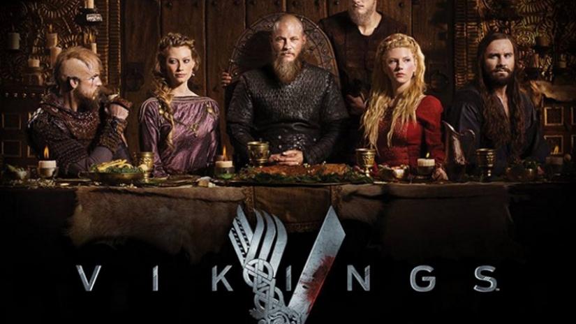 Maude Hirst in Vikings